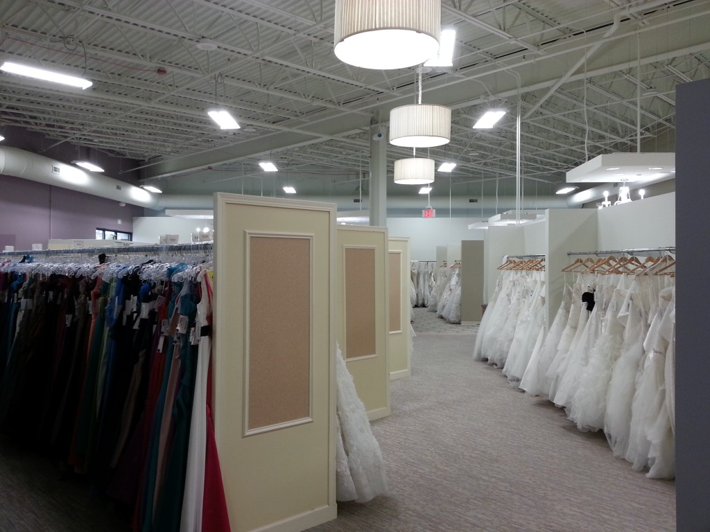 Energy Efficient Clothing Retail Store